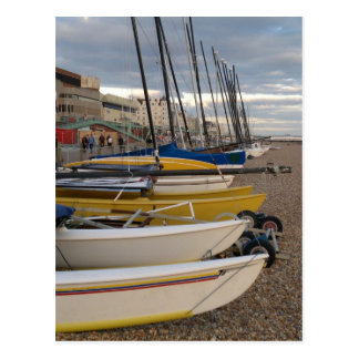 Catamarans On The Beach Postcard