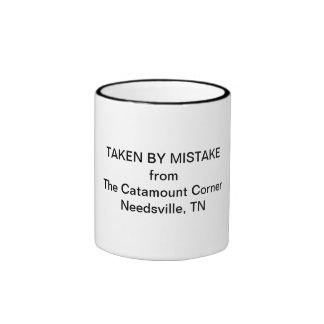 Catamount Corner coffee mug