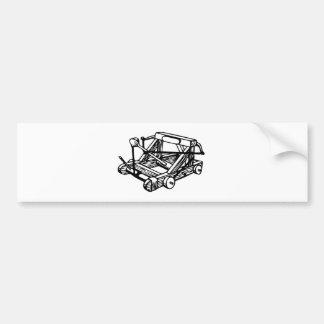 catapult bumper sticker