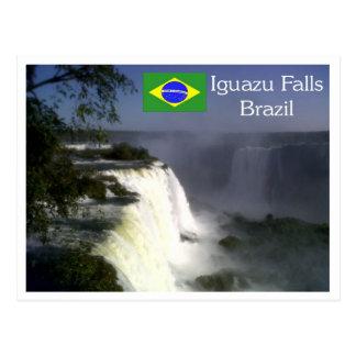 Cataratas de Iguazu, postal de las cataratas del I