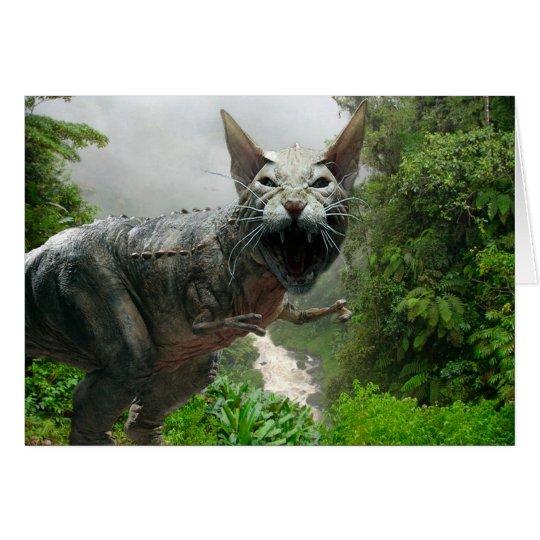 Catasaurus Rex Card