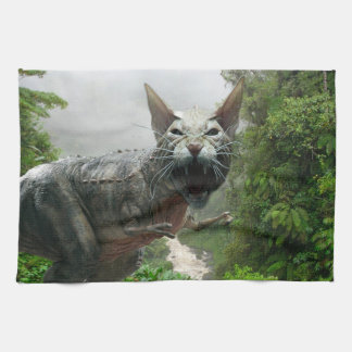 Catasaurus Rex Hand Towels