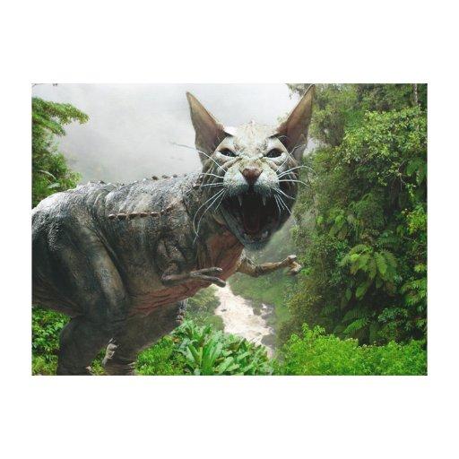Catasaurus Rex Impresión En Lienzo