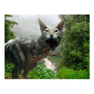 Catasaurus Rex Postcard