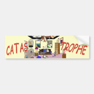 Catastrophe Bumper Sticker