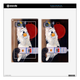 Catatonic Kindle Fire Decals