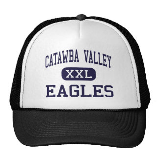Catawba Valley - Eagles - High - Hickory Mesh Hats