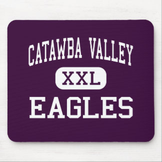 Catawba Valley - Eagles - High - Hickory Mouse Pad