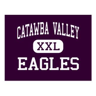 Catawba Valley - Eagles - High - Hickory Postcard