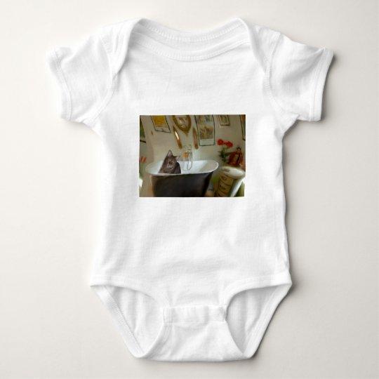 CATBATH BABY BODYSUIT