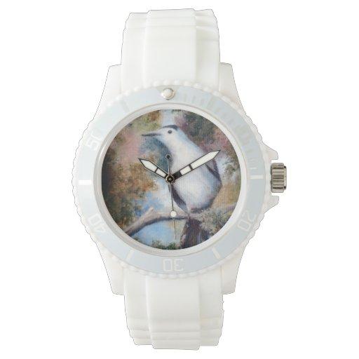 Catbird gris relojes