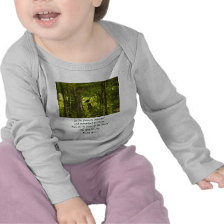 Catbird in the Forest Green T Shirts