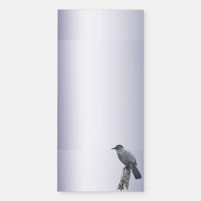 Catbird Magnetic Fridge Notepad
