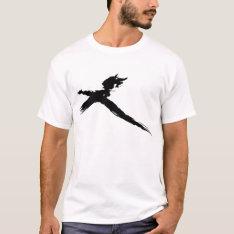 Catbird On A Stick (mens) T-shirt at Zazzle