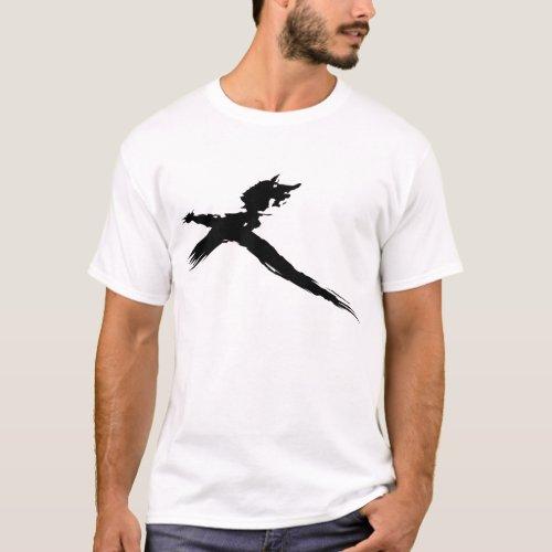 Catbird on a Stick Mens T_Shirt