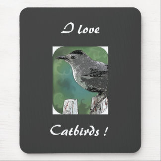 Catbirds !,... mouse pad