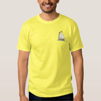 Catboat Embroidered T-Shirt