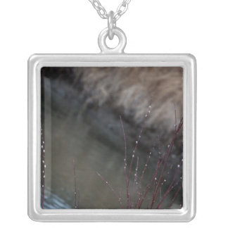 CATC Catkins at the Creek Silver Plated Necklace