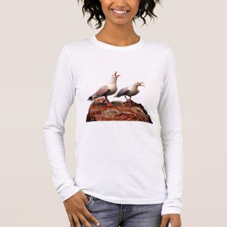 Catcalling Gulls Long Sleeve T-Shirt