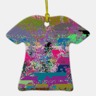 Catch 52 Whirly Shuffle Striped T-Shirt Ornament