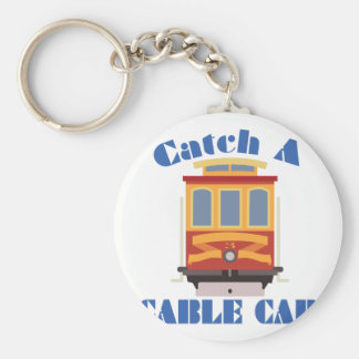 Catch A Cable Car Keychain