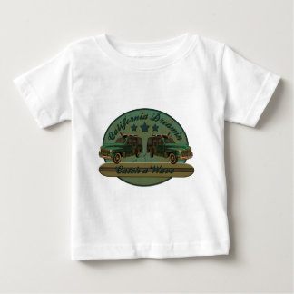 Catch a California Dreamin Surf Wave Baby T-Shirt