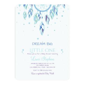 Catch A Dream Blue Invitation