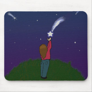 Catch a Falling Star Mouse Pad