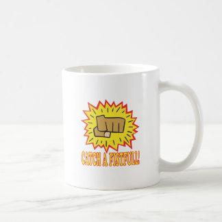 Catch A Fistfull Classic White Coffee Mug
