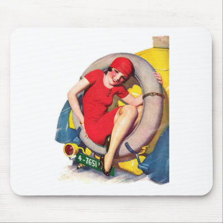 Catch a Ride Mouse Pad
