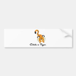 Catch A Tiger Bumper Stickers