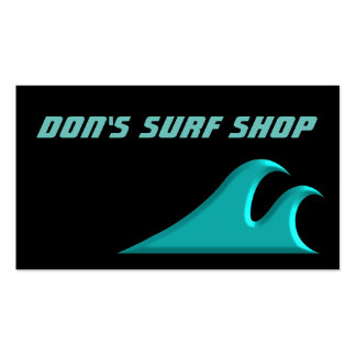 Catch a Wave Cool Surf Business Cards