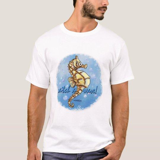 Catch a Wave Seahorse T-shirt