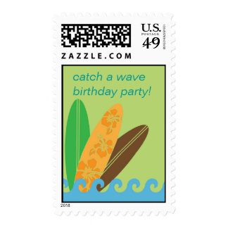 Catch a Wave Stamp