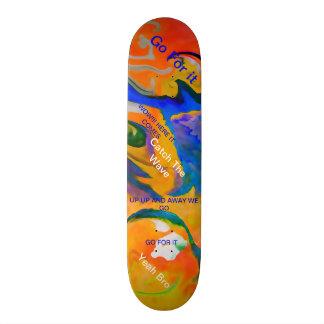 CATCH A WAVE SURFING BOARD SKATEBOARD DECKS