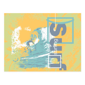 Catch a Wave Surfing T shirts and Gifts Postcard