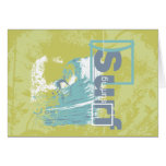 Catch a Wave Surfing Tshirts and Gifts Card