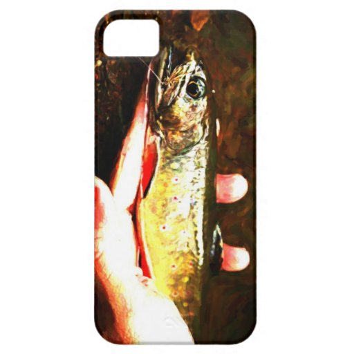 Catch and Release Brook Trout iPhone 5 Cover