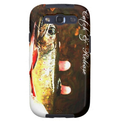 Catch and Release Brook Trout Samsung Galaxy SIII Covers