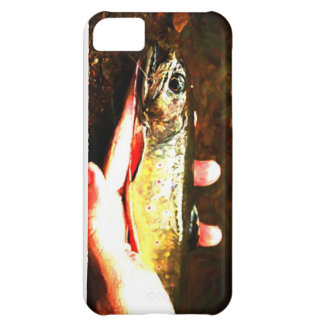 Catch and Release Brook Trout Case For iPhone 5C