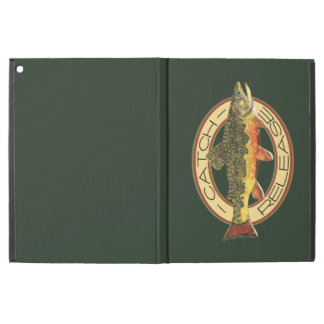 """Catch and Release Brook Trout Fishing iPad Pro 12.9"""" Case"""
