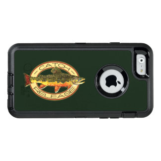 Catch and Release Brook Trout Fishing OtterBox Defender iPhone Case