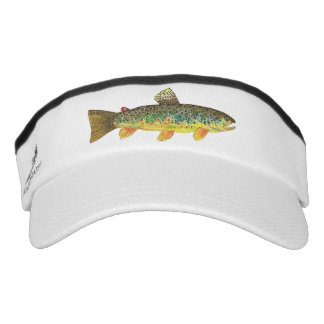 Catch and Release Brook Trout Fishing Visor