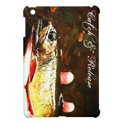 Catch and Release Brook Trout Cover For The iPad Mini