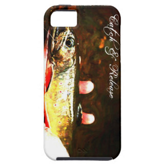 Catch and Release Brook Trout iPhone SE/5/5s Case