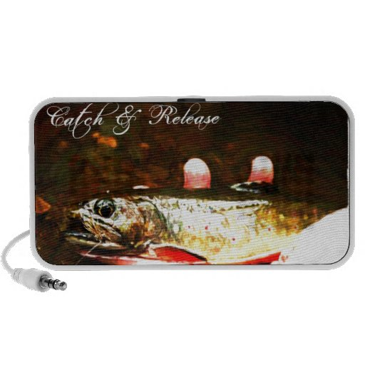 Catch and Release Brook Trout Travel Speaker