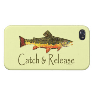 Catch and Release Fishing Cover For iPhone 4