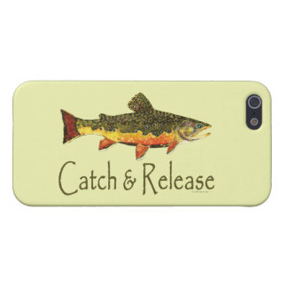Catch and Release Fishing Cover For iPhone SE/5/5s