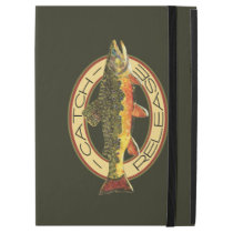 "Catch and Release Fishing for Trout iPad Pro 12.9"" Case"