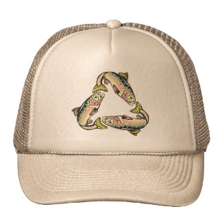 Catch and Release Fishing Trucker Hats